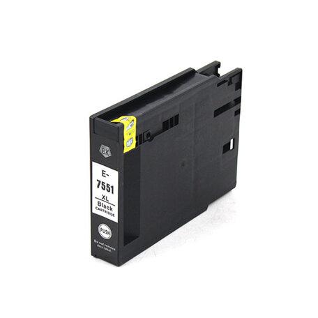 Huismerk Epson T7551 Inktcartridge Zwart