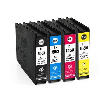 Huismerk Epson T7551-T7554 Inktcartridges Multipack 4-Pack