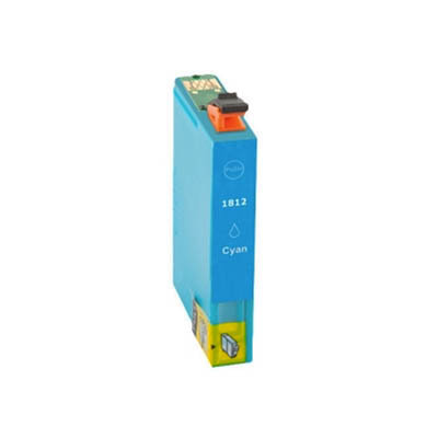 Huismerk Epson 18XL (T1812) Inktcartridge Cyaan