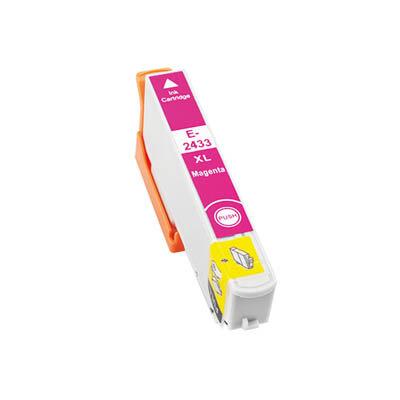 Huismerk Epson 24XL (T2433) Inktcartridge Magenta