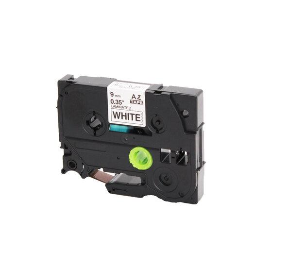 Huismerk-Brother-TZe-211-Tape-Zwart-op-Wit-6mm