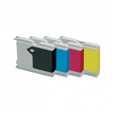 Huismerk-Brother-LC-1000/LC-970-Inktcartridges-Multipack