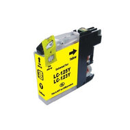 Inkcartridge Brother LC-123Y geel