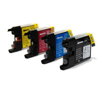 INKCARTRIDGE BROTHER LC-1240 ZWART 3 KLEUREN