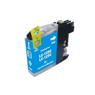 Inkcartridge Brother LC-123C blauw